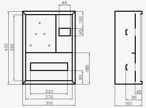 Схема распределительных щитов ЩРН-1-12